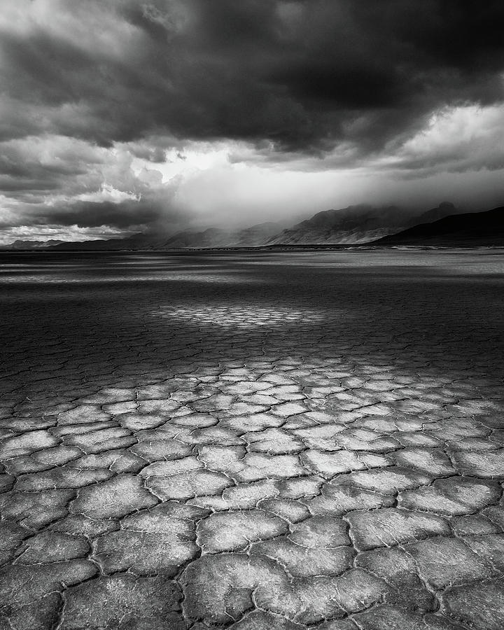 Vertical Photograph - Desert Storm by Tim Gallivan