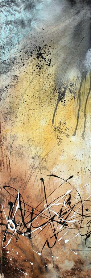 Desert Surroundings 1 By Madart Painting