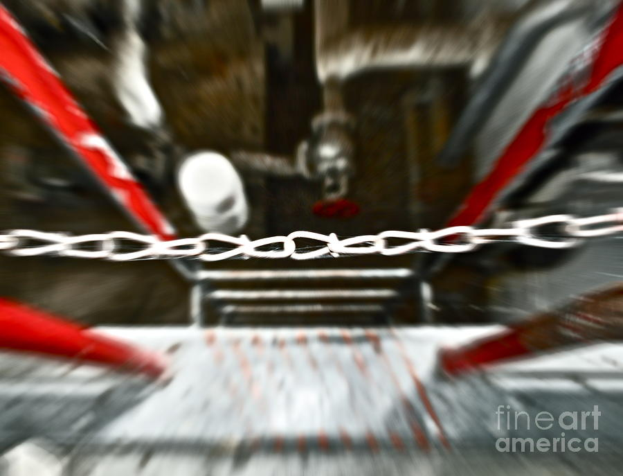 Desperate Escape Photograph  - Desperate Escape Fine Art Print