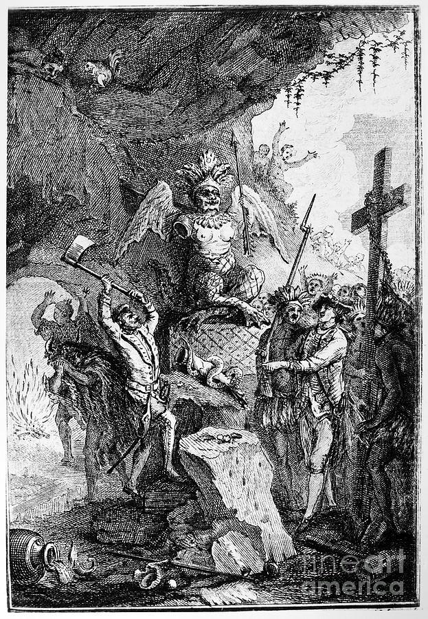 1750 Photograph - Destruction Of Idols, C1750 by Granger