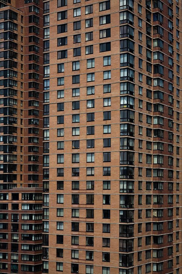 Detail Of High Rise-buildings, Manhattan, New York City, Usa Photograph