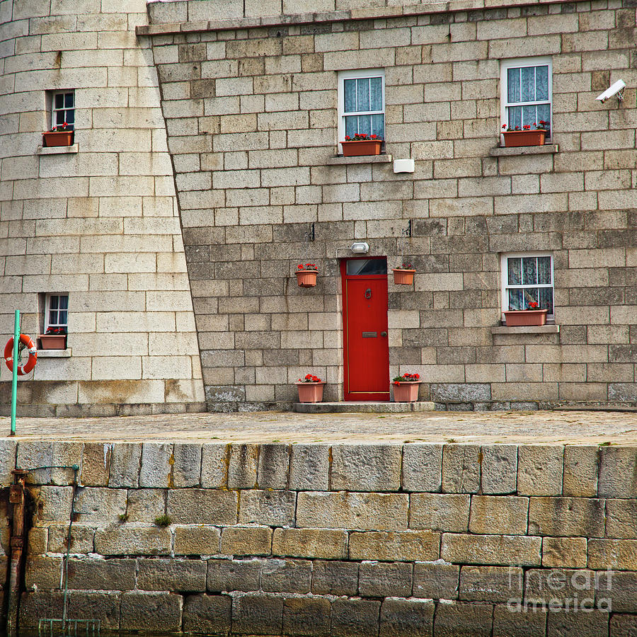 Detail Of Howth Lighthouse Photograph