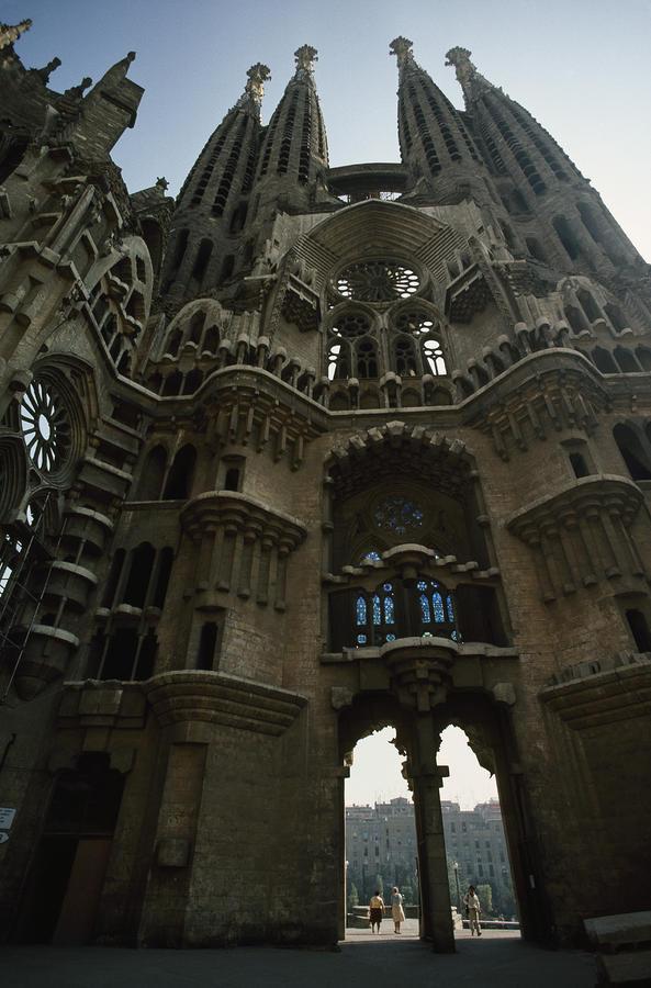 Detail of the la sagrada familia church photograph by paul for La sagrada familia church
