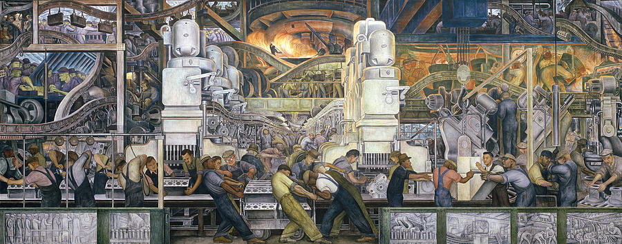 Detroit Industry   North Wall Painting