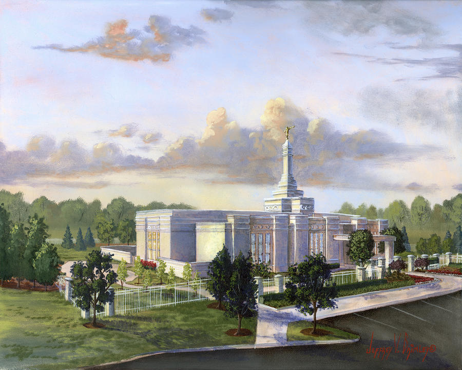 Detroit Michigan Temple Painting