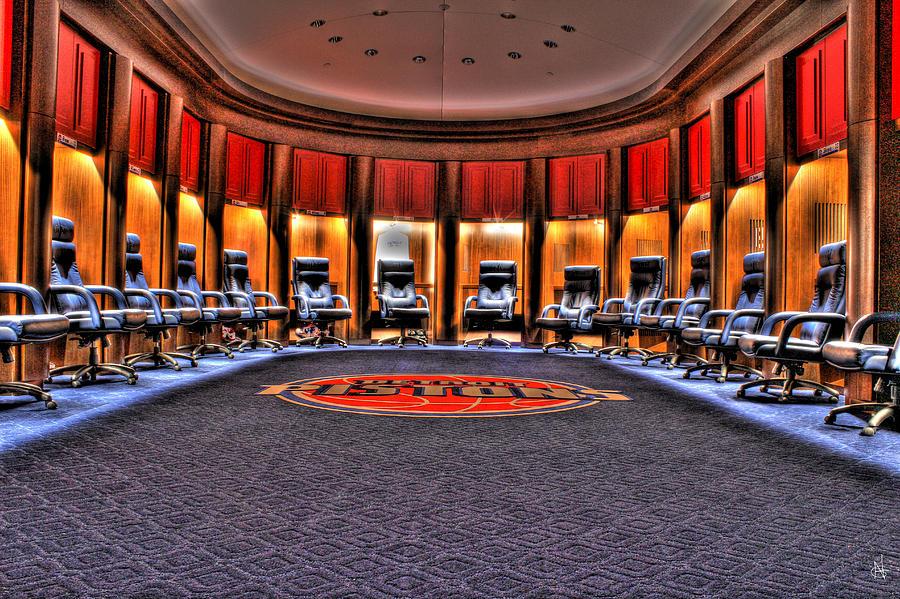 Auburn Football Locker Room