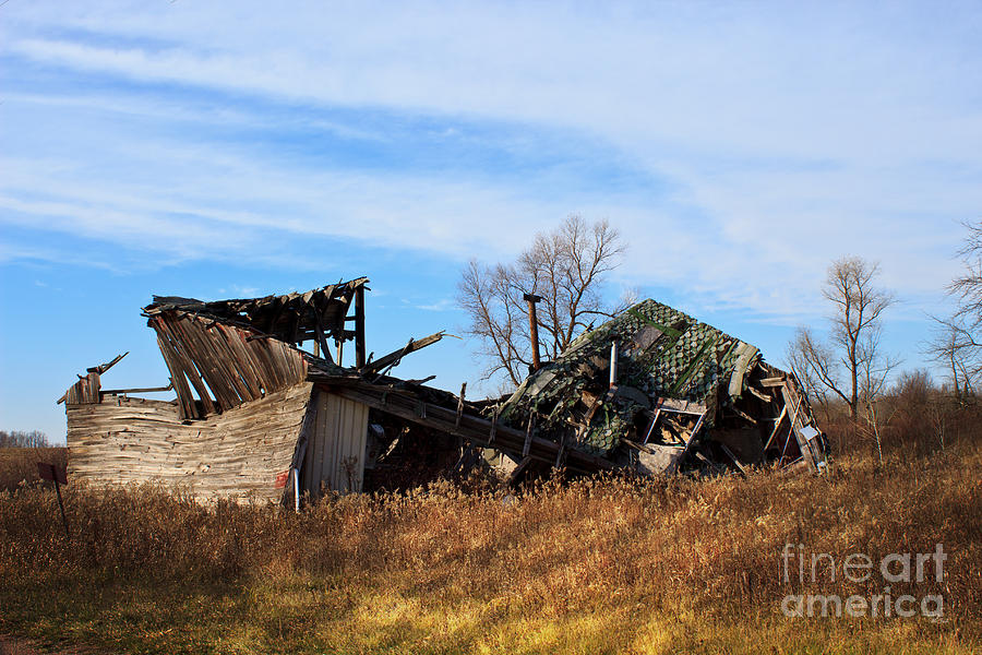 Devastation Photograph  - Devastation Fine Art Print