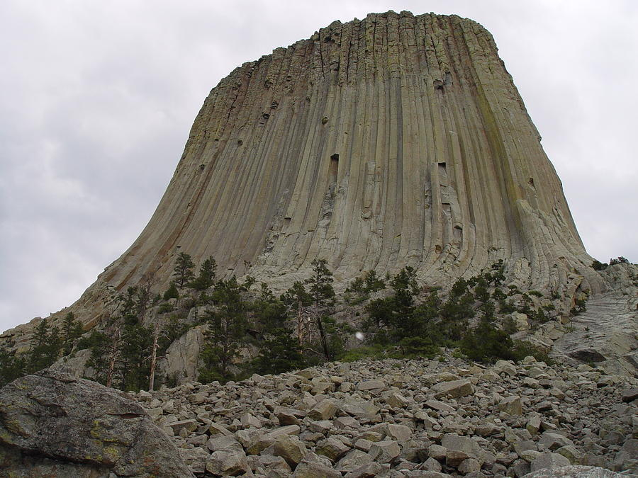 Devils Tower 2 Photograph  - Devils Tower 2 Fine Art Print
