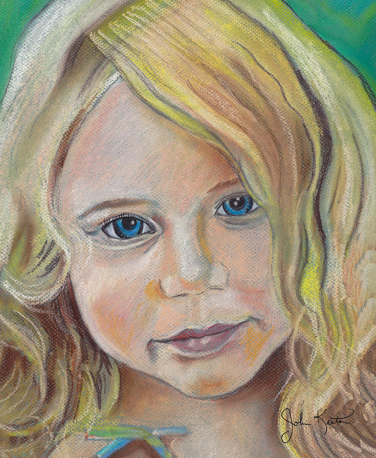Devyn  Drawing  - Devyn  Fine Art Print