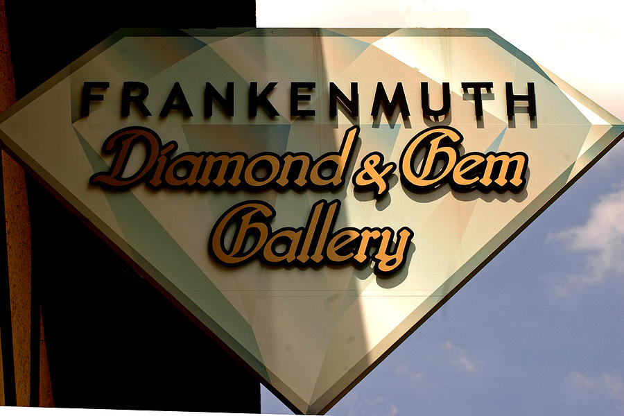 Diamond And Gem Gallery Photograph  - Diamond And Gem Gallery Fine Art Print