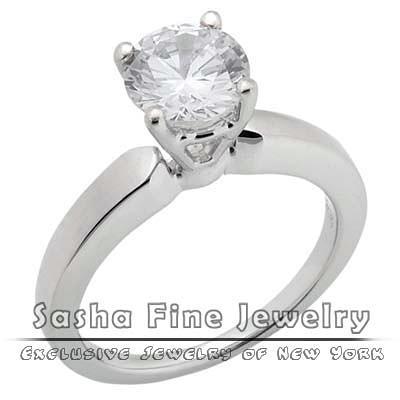 Diamond Solitaire Ring Painting