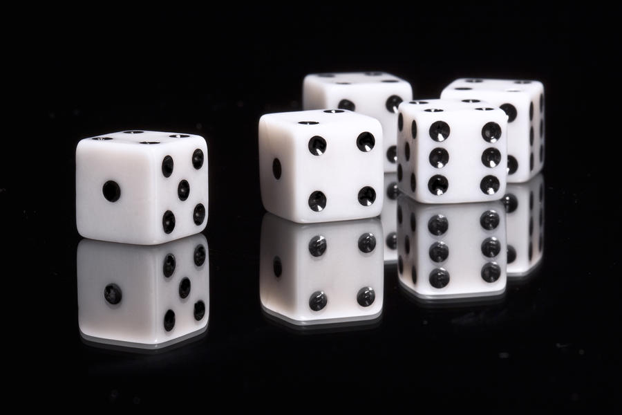 Dice II Photograph  - Dice II Fine Art Print