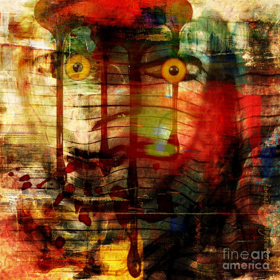 Did You Say - Trust Mixed Media  - Did You Say - Trust Fine Art Print