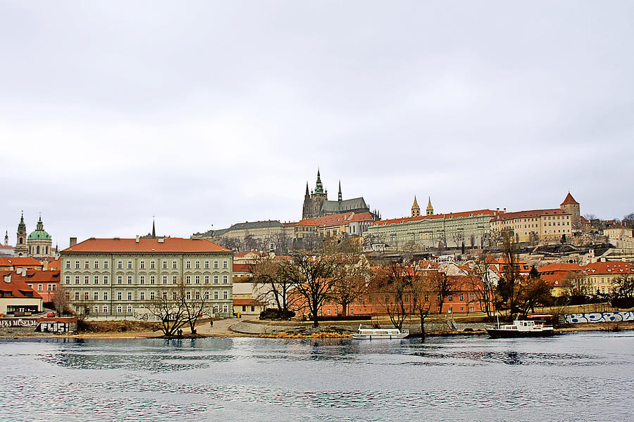 Die Moldau - Prague Photograph  - Die Moldau - Prague Fine Art Print