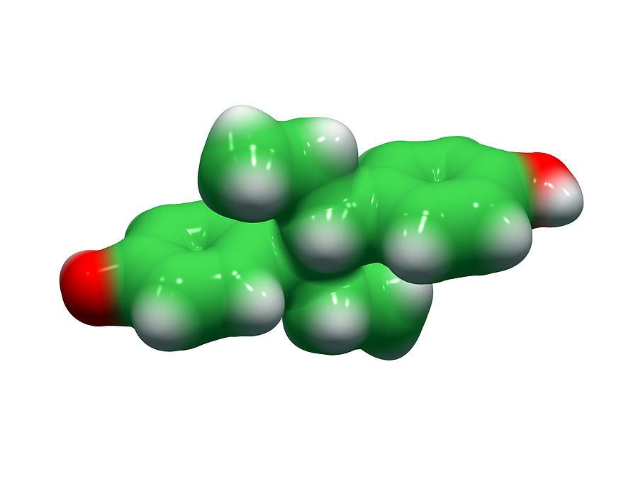 Diethylstilbestrol Drug Molecule Photograph