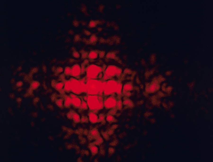 Diffraction Pattern Photograph