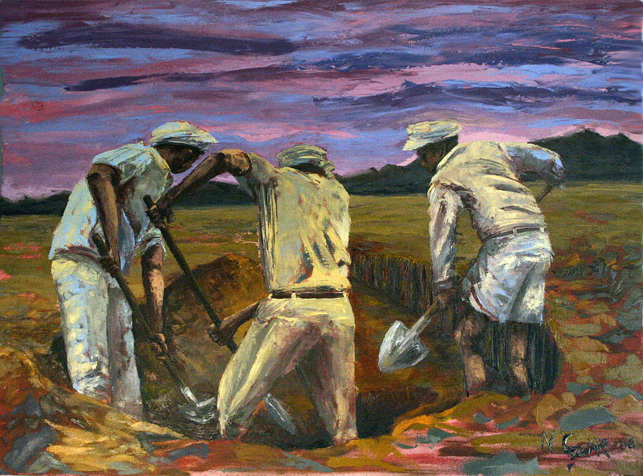 Diggers Painting
