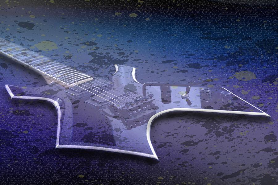 Digital-art E-guitar I Photograph