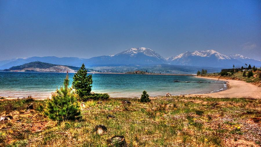 Dillon Lake Digital Art  - Dillon Lake Fine Art Print