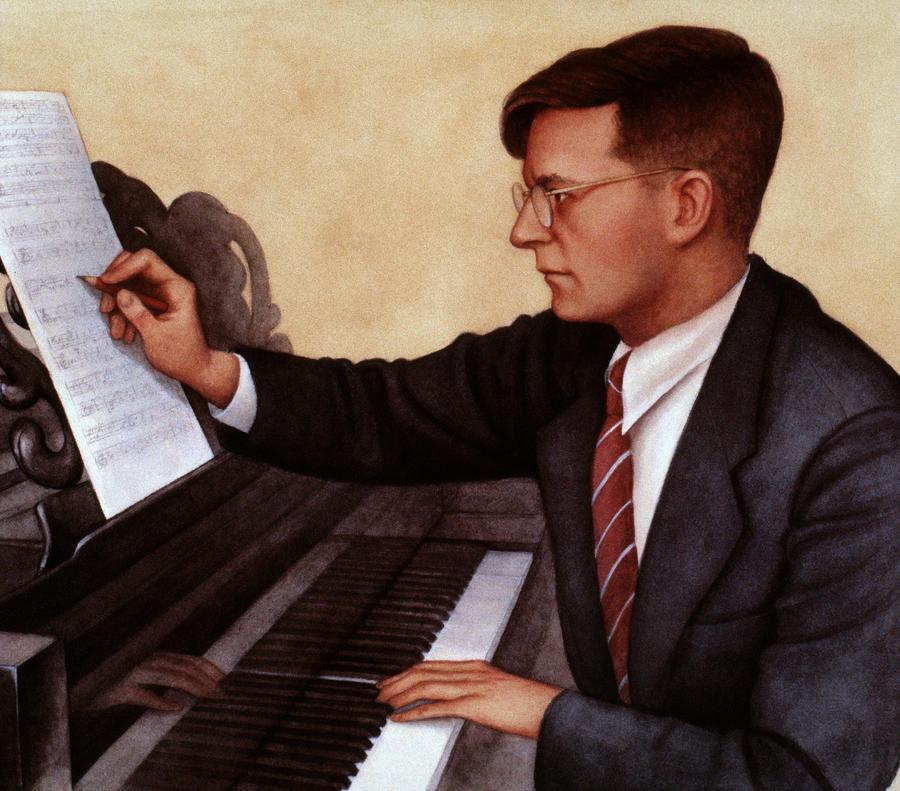 Dimitri Shostakovich Photograph