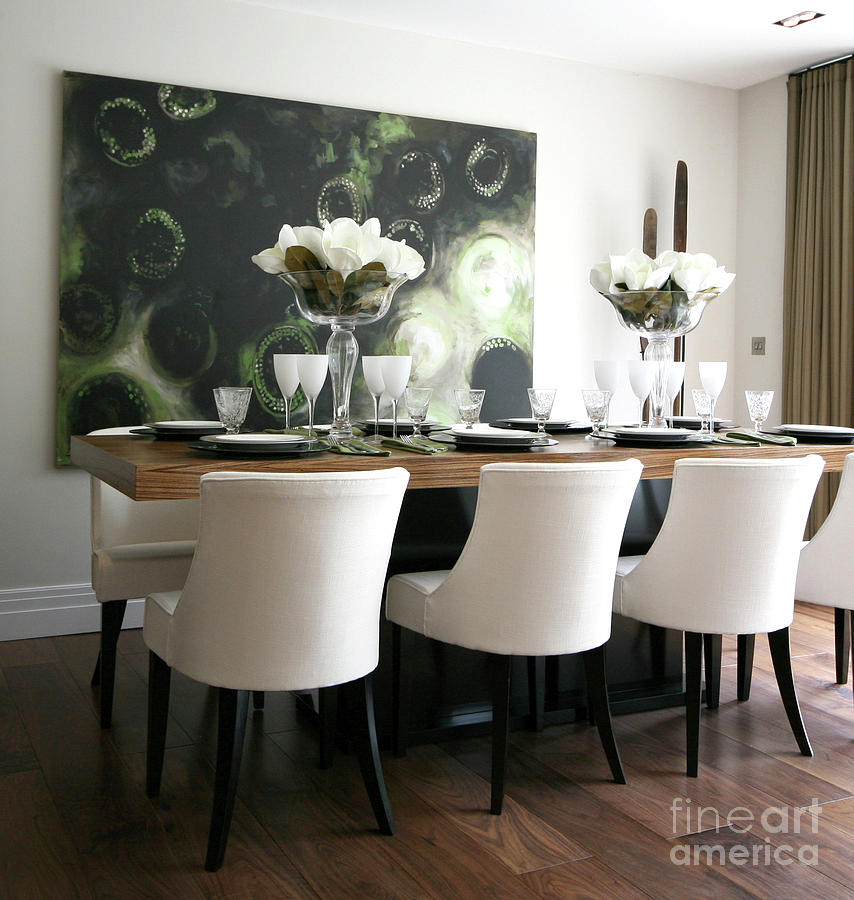 Dining room painting by leigh banks for The dining room leigh