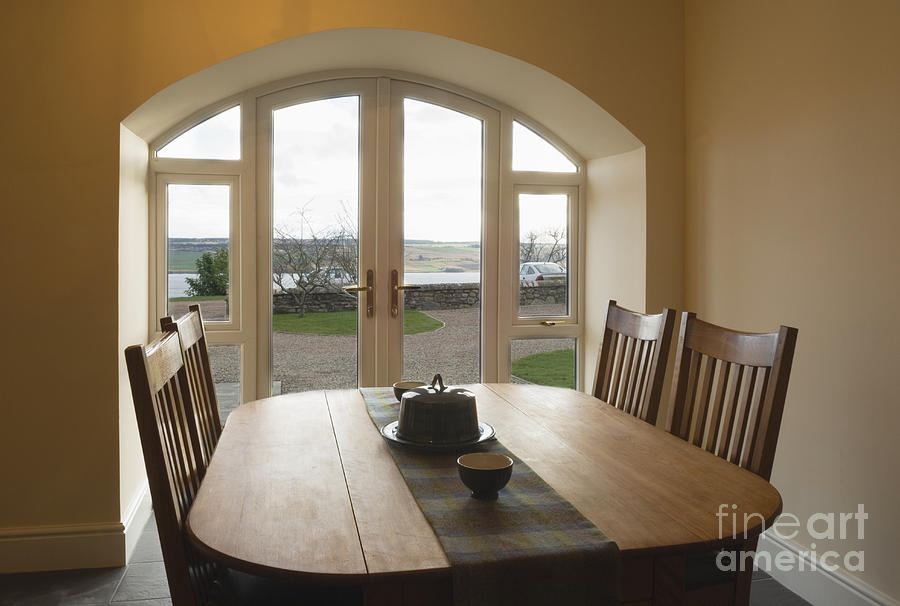 Dining Room Table Photograph
