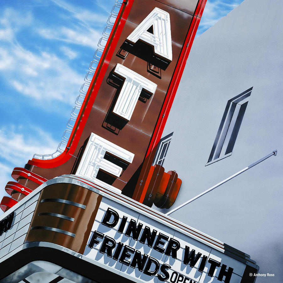 Dinner With Friends Painting  - Dinner With Friends Fine Art Print