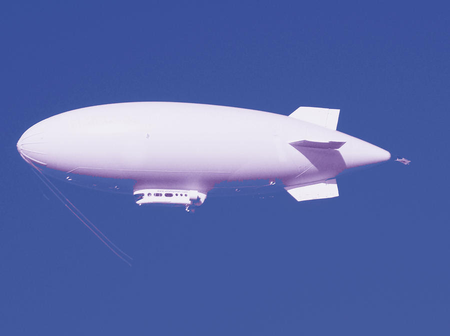 Dirigible Photograph  - Dirigible Fine Art Print