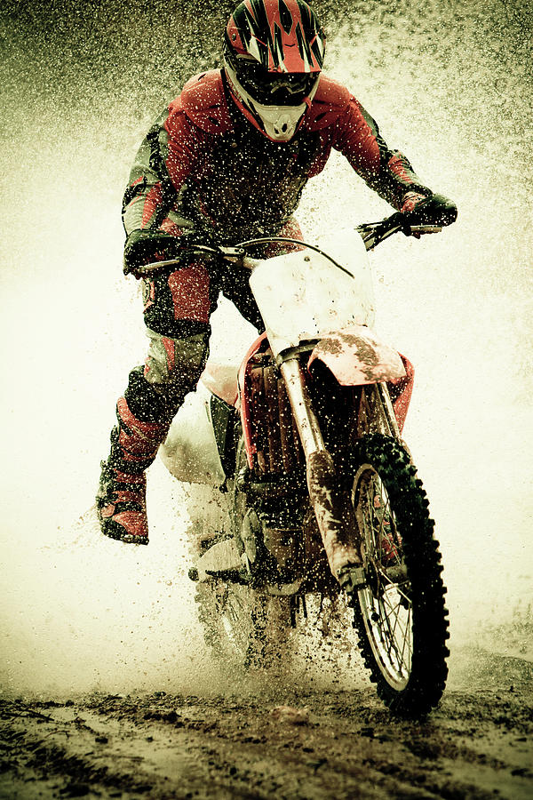 Dirt Bike Rider Photograph