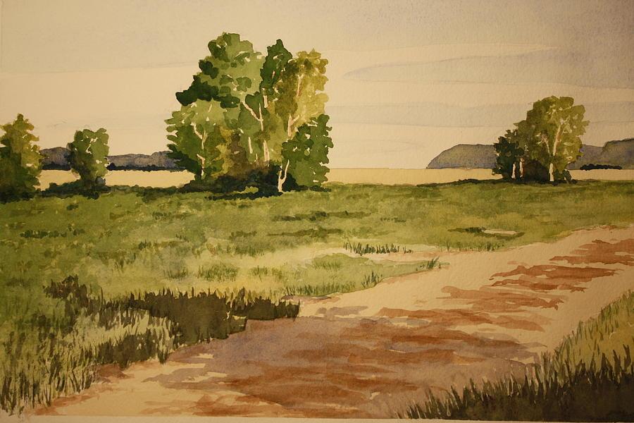 Dirt Road 1 Painting