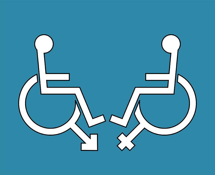 Disability Sexuality, Conceptual Artwork Photograph