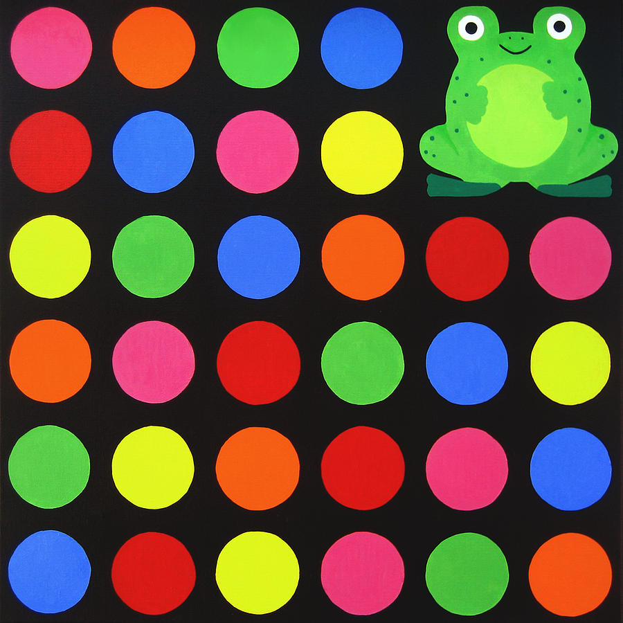 Discofrog Painting