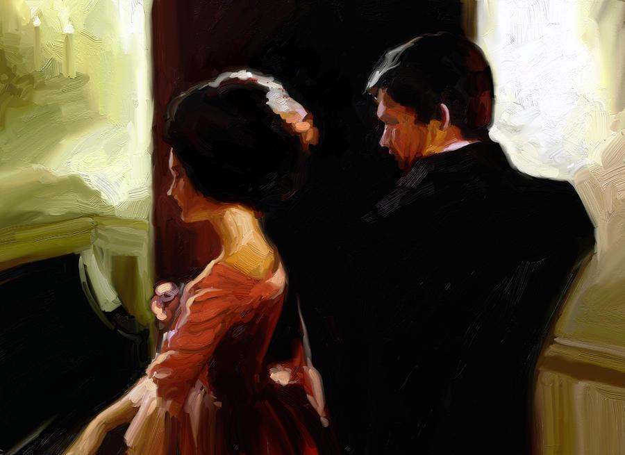 Discreet Whisper Digital Art