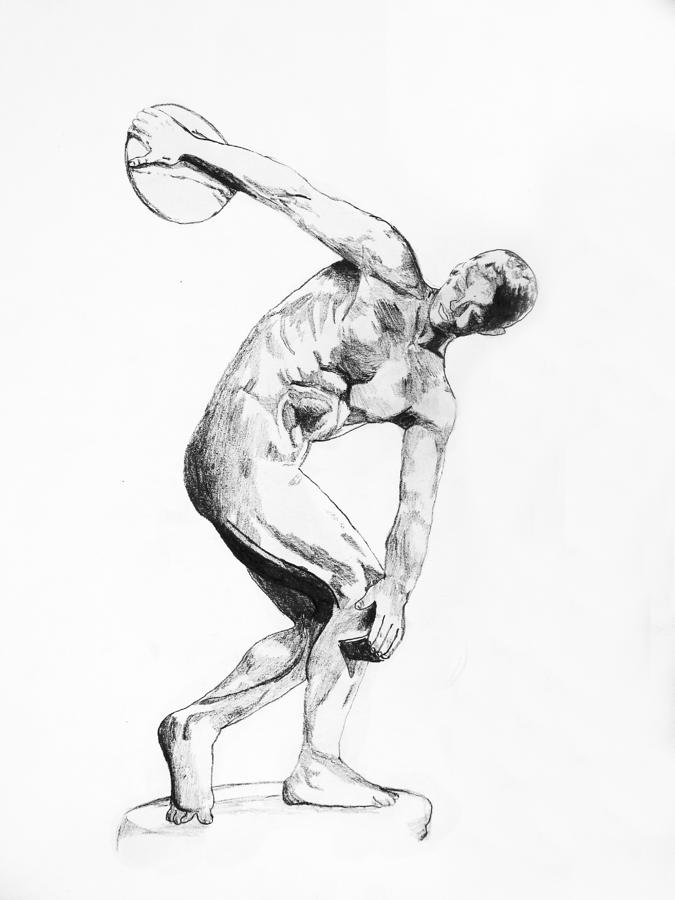 discobolus sketch - photo #8