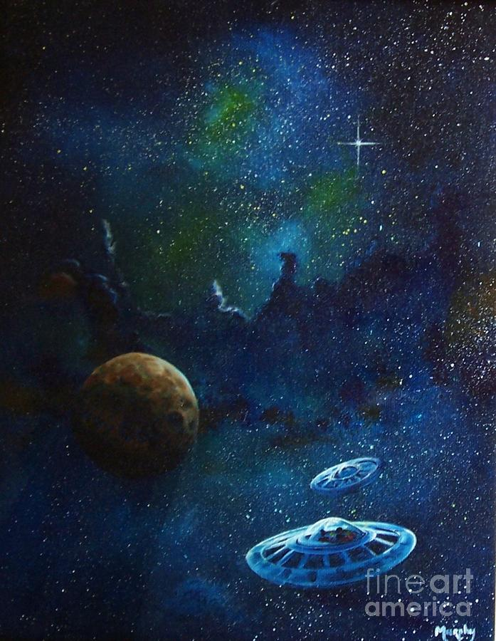 Distant Nebula Painting