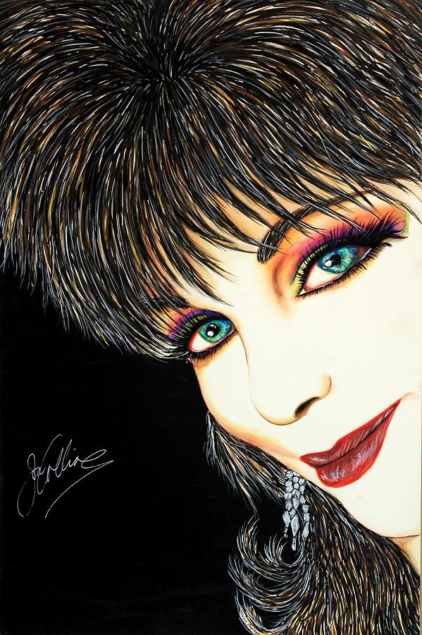 Diva Nasty Mixed Media  - Diva Nasty Fine Art Print
