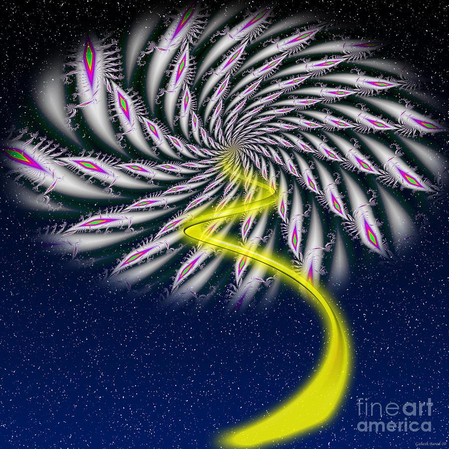 Divine Fireworks Photograph