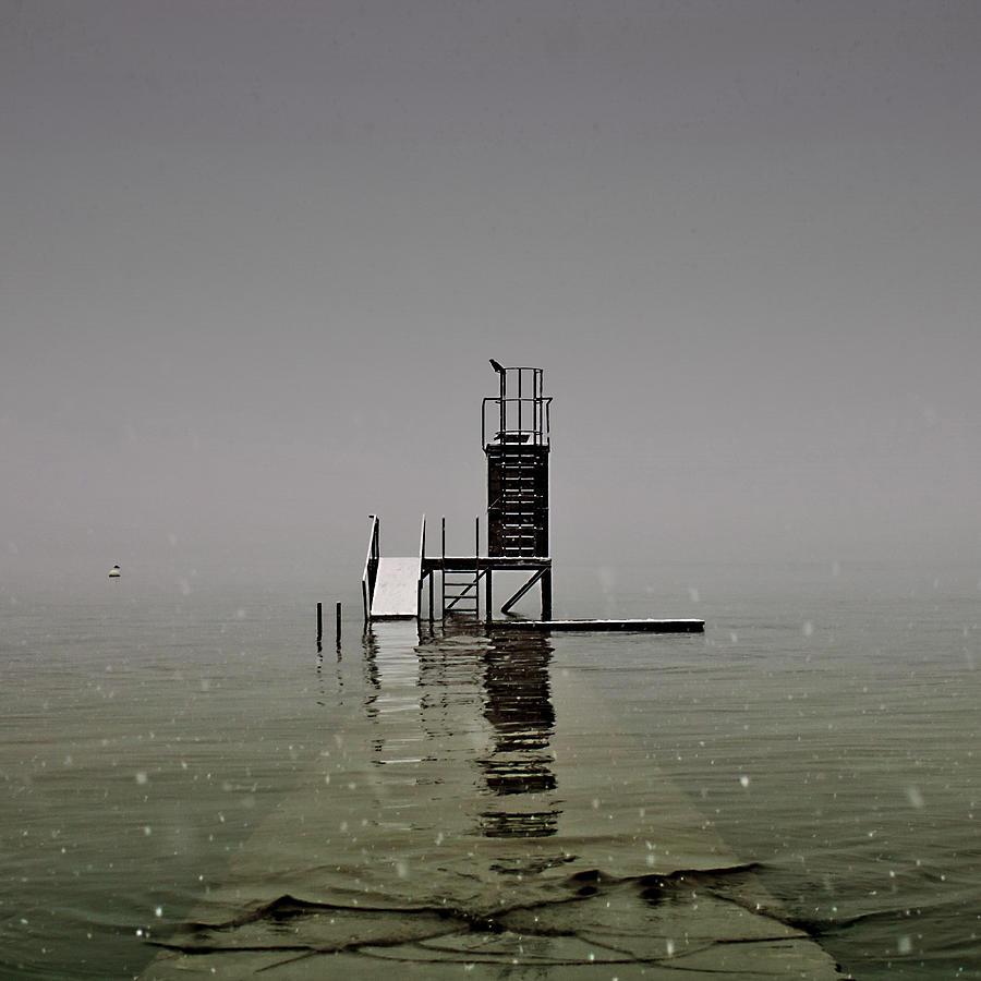 Diving Platform Photograph