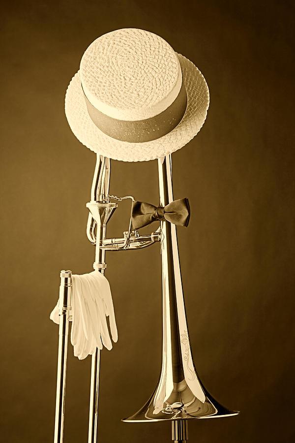Dixieland Trombone Photograph