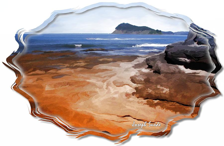 Do-00016 Pearl Beach-tidal Baths Digital Art