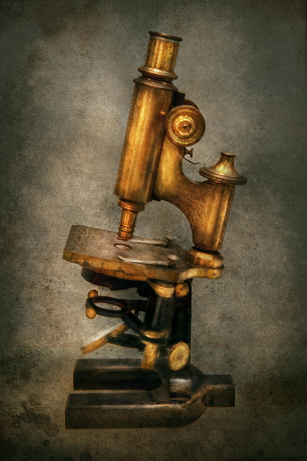 Doctor - Microscope -  The Start Of Modern Science Photograph