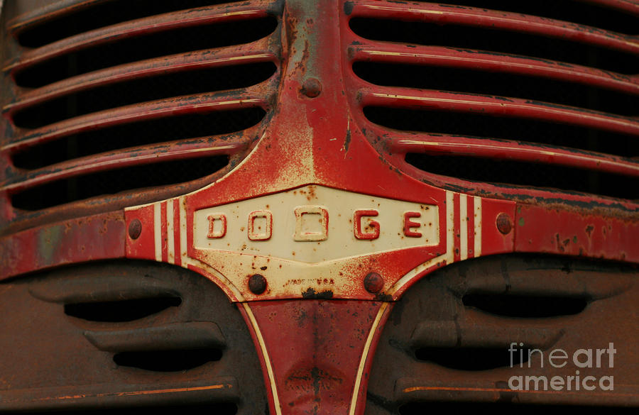 Dodge 41 Grill Photograph