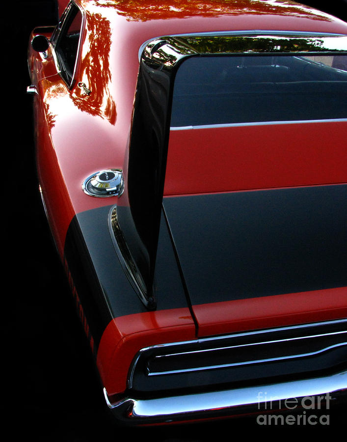 Dodge Daytona Fin Photograph  - Dodge Daytona Fin Fine Art Print
