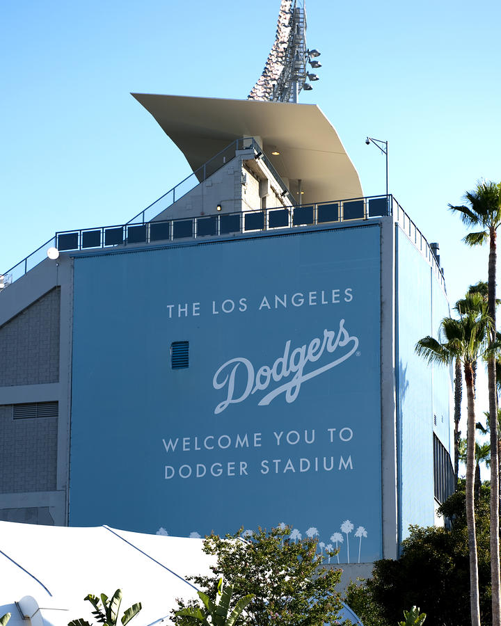 Dodger Stadium Photograph  - Dodger Stadium Fine Art Print