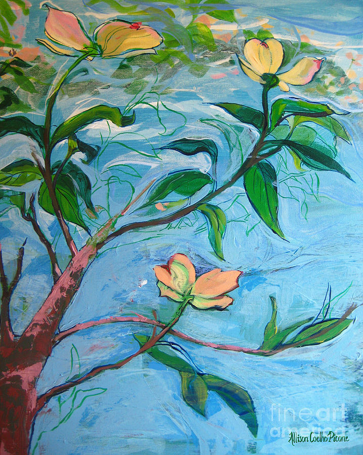 Dogwood Painting