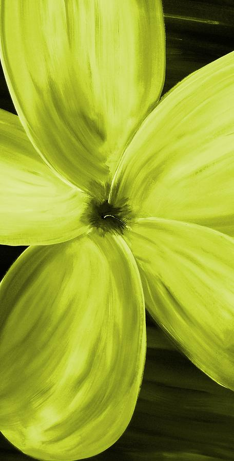 Dogwood Bloom Yellow Digital Art  - Dogwood Bloom Yellow Fine Art Print