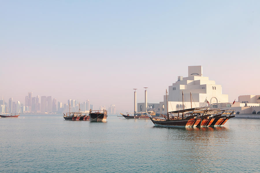 Doha Morning Photograph  - Doha Morning Fine Art Print