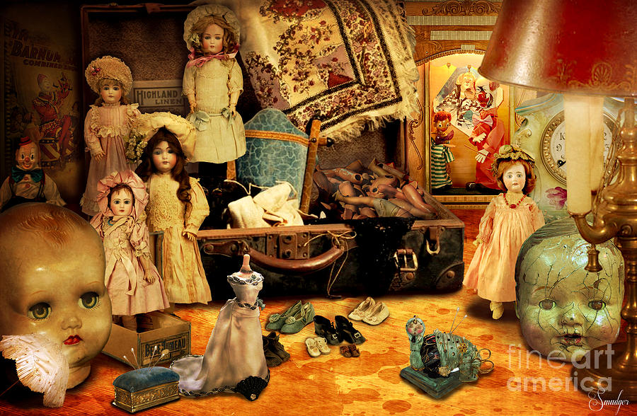 Doll Hospital Digital Art