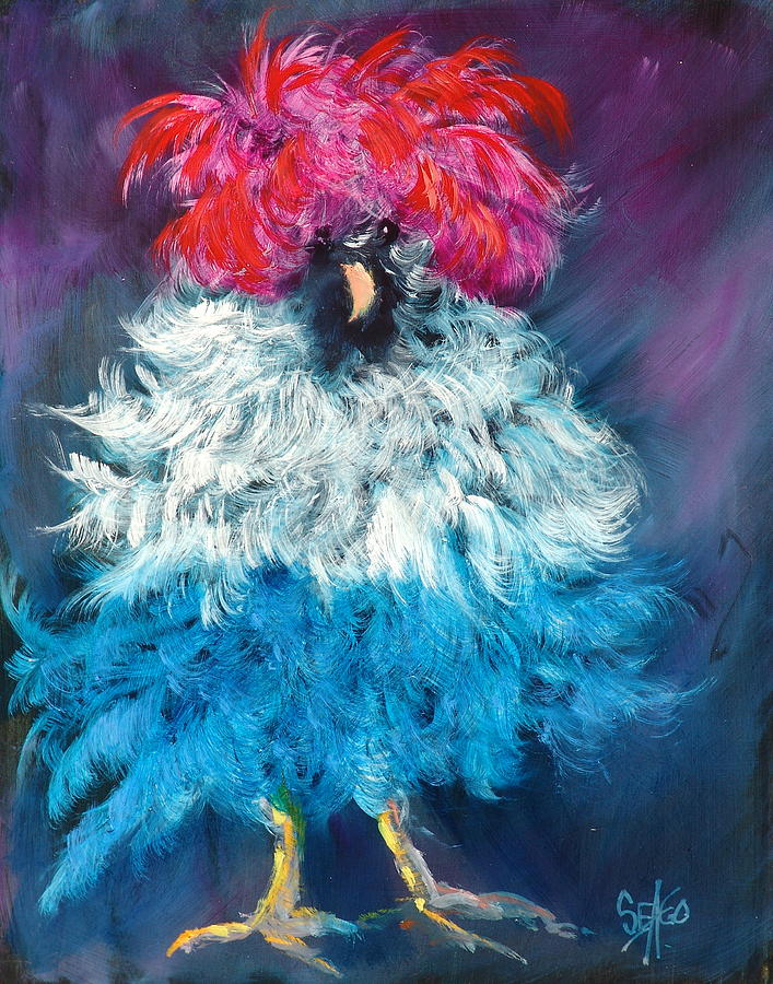 Dolly Painting  - Dolly Fine Art Print
