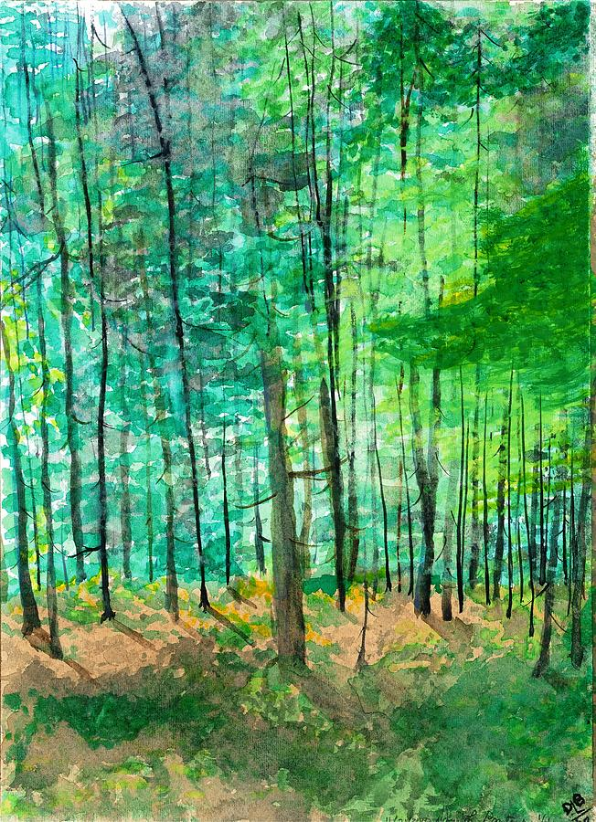 Dolly Sods Trees Painting